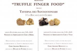 Truffle Finger Food